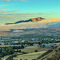 Fog Over Squaw Butte by Robert Bales