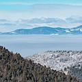 Foggy Sangre De Cristo Valley by Steve Krull