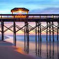 Folly Pier At Sunrise by James Woody