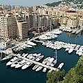 Fontvieille Harbour In Monaco by David Birchall