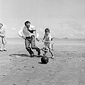 Footballing Father by Bert Hardy