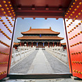 Forbidden City In Beijing , China by Hung Chung Chih