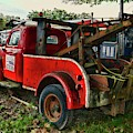 Ford F4 Tow The Truck Business End by Paul Ward