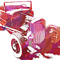 Ford Flathead Roadster Two Pop by David King