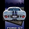 Ford Gt - Into The City by Steven Milner