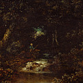 Forest Landscape  by Ralph Albert Blakelock