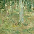 Foret De Compiegne by Berthe Morisot