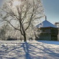 Fort Halifax Winter by John Meader