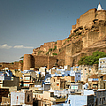 Fort Mehrangarh And Old Town In Jodhpur by Ania Blazejewska