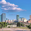 Fort Worth Skyline 062019 by Rospotte Photography