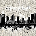 Fort Worth Skyline Music Sheet by Bekim M