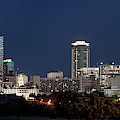 Fort Worth Skyline Pano 061619 by Rospotte Photography