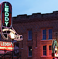 Fort Worth Stockyards Leddy's Boots 0419 by Rospotte Photography