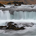 Fossalar River Waterfall by Mark Hunter