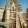 Founding Fathers Arch Tivoli Italy by Joan Carroll