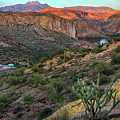 Four Peaks And Canyon Lake Overview by Dave Dilli