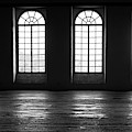 Four Windows Black And White by Tatiana Travelways