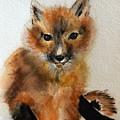 Fox Cub by Marcia Breznay