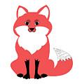 Fox, Fox Art, Fox Canvas, Fox Framed Print, by David Millenheft