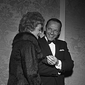 Frank Sinatra And Lucille Ball by Michael Ochs Archives