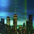 Freedom Tower Skyline by Susan Maxwell Schmidt