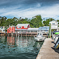 Freeport Town Wharf by Guy Whiteley
