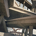 Freeways, Low Angle View by Ed Freeman