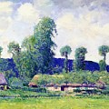 French Farm by Guy Rose