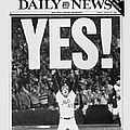 Friont Page, Jesse Orosco And Thousands by New York Daily News Archive