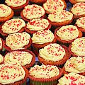 Frosted Cupcakes by Cynthia Guinn