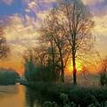 Frosty Winter Sunrise by Martyn Arnold