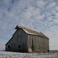 Frozen Dusting Barn by Dylan Punke