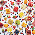 Fruit Squares Pattern by Tim Gainey