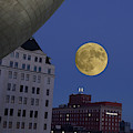 Full Moon At The Plaza by Jeffrey PERKINS