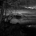 Full Moon Behind The Clouds by Jouko Lehto