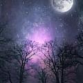 Full Moon Night Magic by Dirk Wuestenhagen