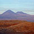 Full Moon Rising Over Moon Valley Atacama Desert Chile by James Brunker