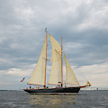 Full Schooner Sails by Mark Duehmig
