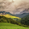 Funes Valley Sunset by James Billings