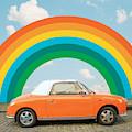 Funky Rainbow Ride by Gabor Estefan