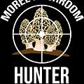 Funny Mushroom Morel Mushroom Hunter Gift by TeeQueen2603