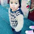 Fuzzy Sweater by Rosanne Licciardi