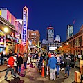 Game Night On Lansdowne Street 2018 World Series Red Sox Boston Ma 2 by Toby McGuire