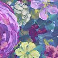 Garden Flowers Floral Impressionism  by Irina Sztukowski