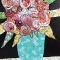 Garden Roses by Karla Clark