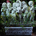 Garden Statuary by Mary Capriole