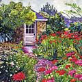 Gardener's Stone Shed by David Lloyd Glover