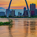 Gateway Arch Sunset - Saint Louis Missouri by Gregory Ballos