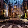Gay Street Greenwich Village by Alison Frank