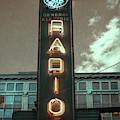 Ge Radio - Vintage Sign by Joann Vitali